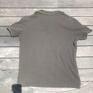 9f3324956 Prada Shirts | Authentic Mens Polo Shirt Stripe | Poshmark